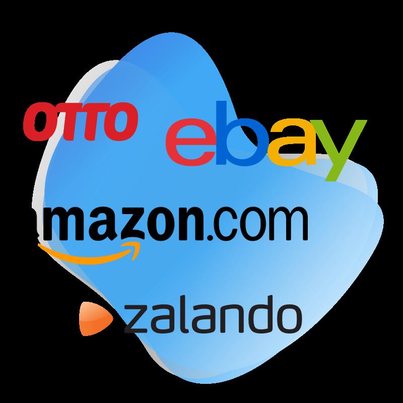 Amazon und eBay Kennzahlen