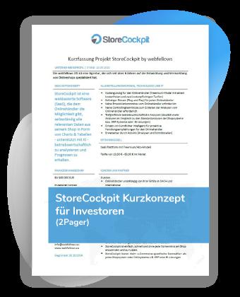 StoreCockpit Investoreninfo 2pager